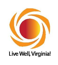 Live Well, Virginia Logo